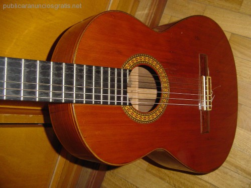 Guitarra de luthier garrido madrid 1980 publicar for Luthier madrid