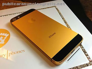 iphone 5s 24k gold